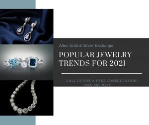 Popular Jewelry Trends for 2021